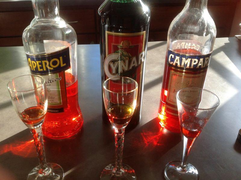 Aperol Campari Cynar 1000