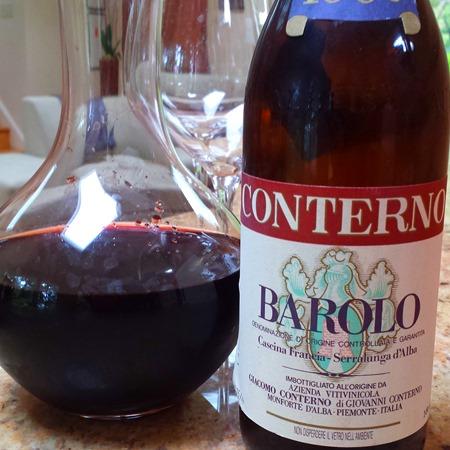 Conterno Barolo 1958