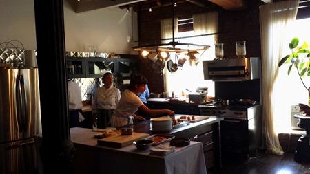 Michelle Bernstein Chef at work