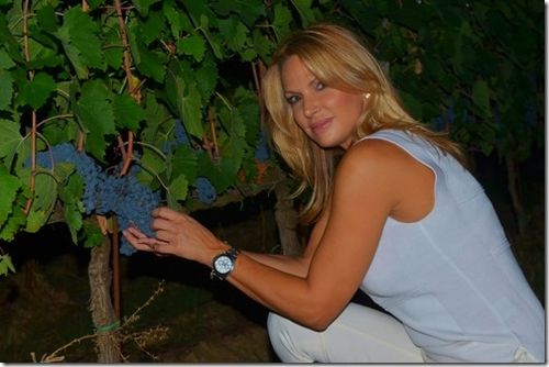 Natalie in the Vineyard