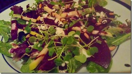 Le Salbuen Beet Salad