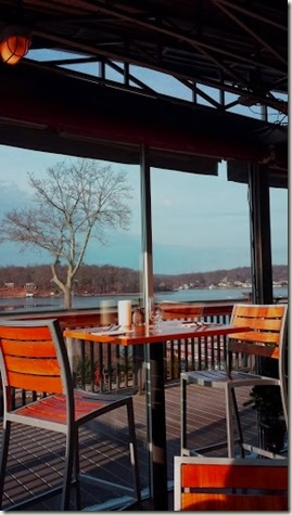 Alice's Restaurant Lake Hopatcong  the view