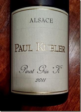 Paul Kubler Pinot Gris K