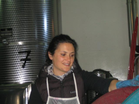 In the Winery