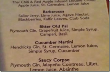 cucumber Martini close