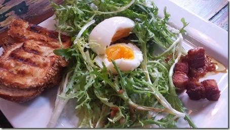 Venegazzu Montelvini Asolo Prosecco Superiore Millesimato Salad and Sandwich