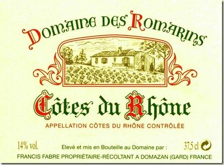 doaime Des Romarins