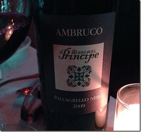 """Del Principe Palagrello Nero """"Ambruco"""""""