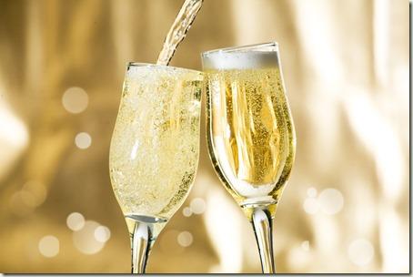sparkling-wine pour