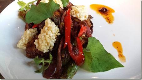 Braised Beef Fried Rice - beef shank, seasonal mushrooms, house pickled mustard greens