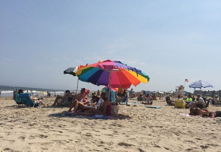 A beautiful Day on Sea Girt Beach