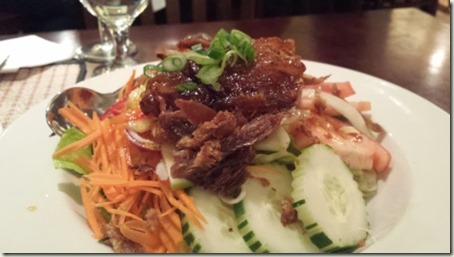 Brookside Thai Yum Ped Duck Salad
