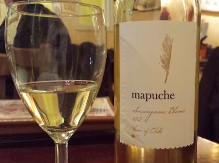 Mapuche Sauvignon Blanc wine