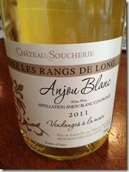 Chateau Soucherie Anjou Blanc Chenin Blanc Bottle