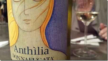 Un bel vino bianco. Anthilia da Sicily