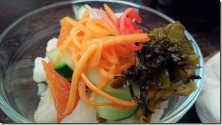 Tsukemono Ani's signature pickled market vegetables