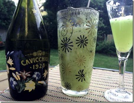 Summer Wine Cocktails - Salty Lime Mint Cuke Salad