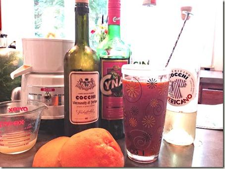 Ruby Red Grapefruit Negroni
