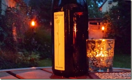 FiorFiore wine by candle light