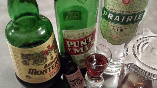 Prarie Gin Negroni