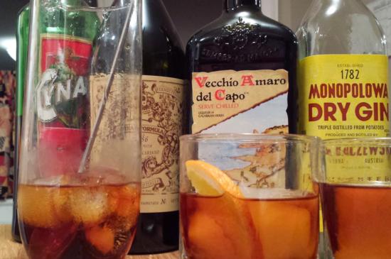 Vecchio Amaro del Capo Negroni 1000