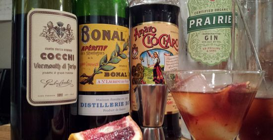 Bloody Delightful Negroni enhanced