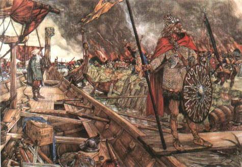 Vikingenplunderendorestad