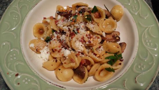 Orchietta Mushroom Pasta