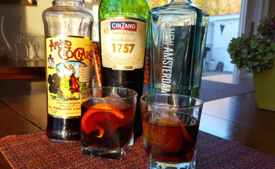 Cinzano 1757 Negroni two