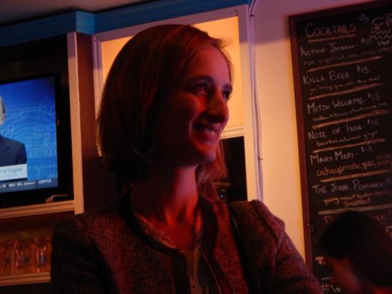 Elise Losfelt, winemaker and oenologist at Moët & Chandon smiles