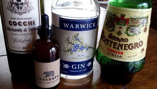 Gin is the Thing Ingredients