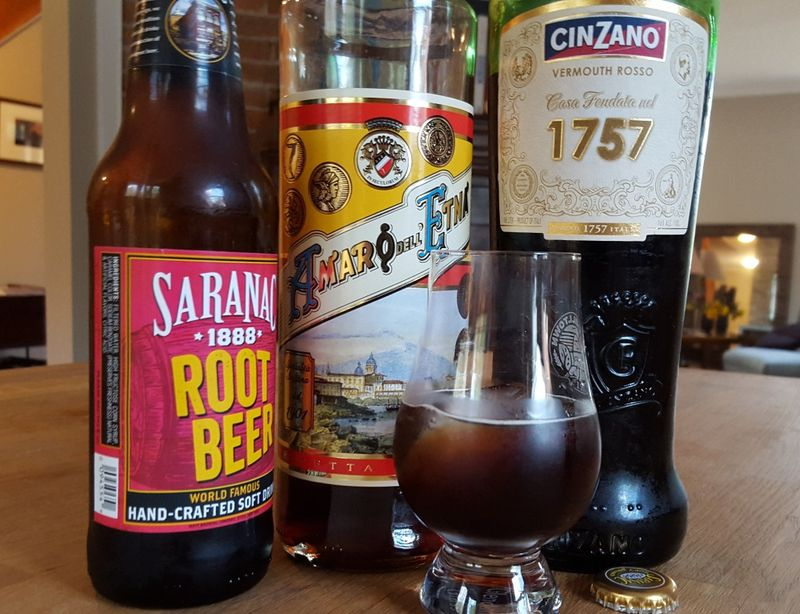 Root beer negroni