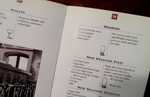 The Bartenders Guide Negroni