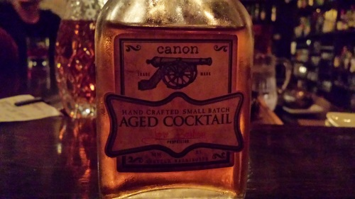 Hanky Panky Aged Cocktail Canon Seattle
