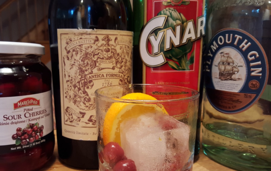 Sour Cherry Negroni